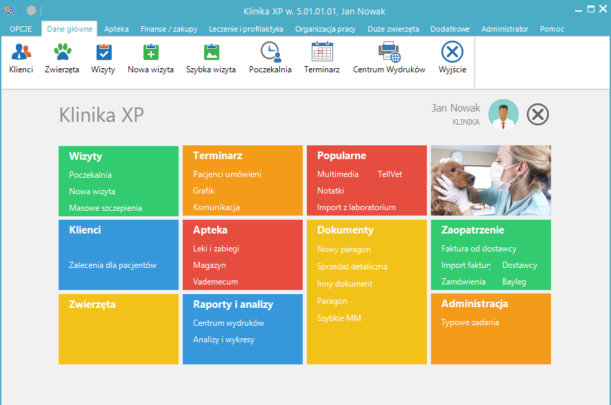 Klinika XP - Wersja 5.01